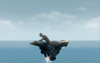 Specter - hover mode - left in Saints Row The Third