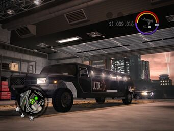 The Job - Ultor variant - front left in Saints Row 2