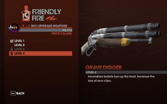 Grave Digger - Level 4 description