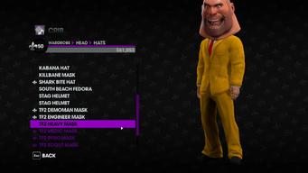 Valve Clothing Pack tf2 mask 3 heavy