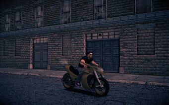 Kaneda - front right in Saints Row IV