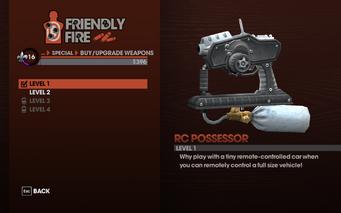 RC Possessor Level 1 description