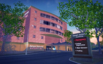 Encanto in Saints Row 2 - Sagre Sedienta Hospital