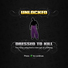 Saints Row unlockable - Customization Items - Dressed to Kill - Zoot Suit