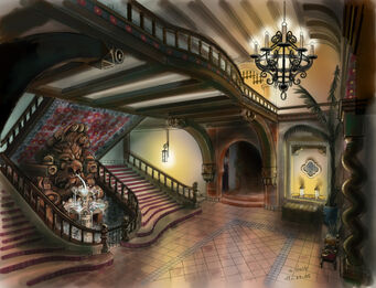 Lopez Mansion Concept Art