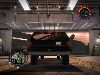 The Job - Ultor variant - rear in Saints Row 2