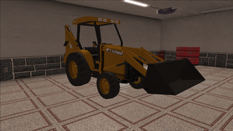 Saints Row variants - Backhoe - front right