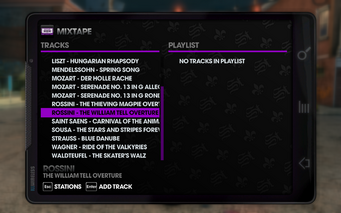 Klassic 102.4 - Saints Row The Third tracklist - bottom