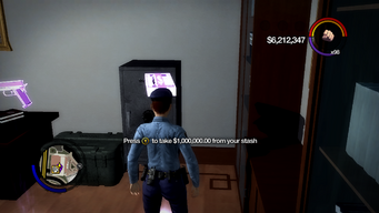 Max Stash Cash in Saints Row 2