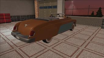 Saints Row variants - Gunslinger - Classic Convertible - rear right