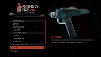 Weapon - Pistols - Quickshot Pistol - Red Shirt Special - Default
