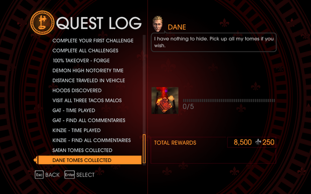 File:Gat out of Hell Challenge - Dane Tomes Collected.png