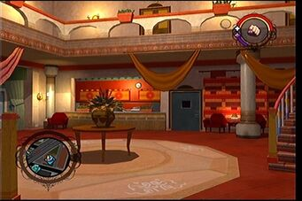 Separation Anxiety cutscene interior in Saints Row - lower level