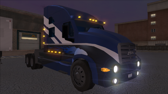 Goliath at night