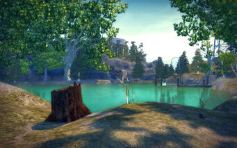 Pleasant View in Saints Row 2 - lake