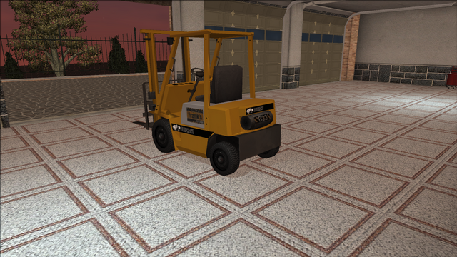 File:Saints Row variants - Forklift - standard - rear left.png