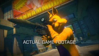 Annihilator in a trailer for Saints Row The Third