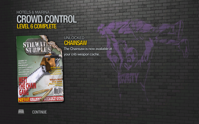 File:Chainsaw unlocked by Crowd Control Level 6 in Saints Row 2.png