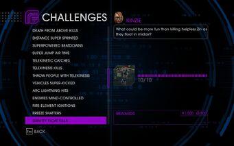 Challenge 41 Gravity Float Kills