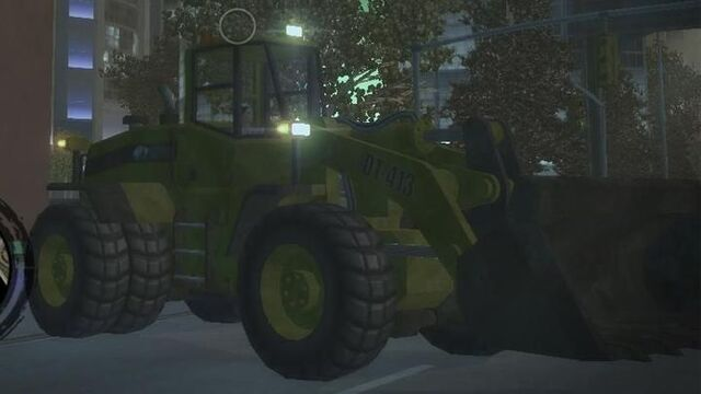 File:Bulldozer with lights - front right in Saints Row 2.jpg
