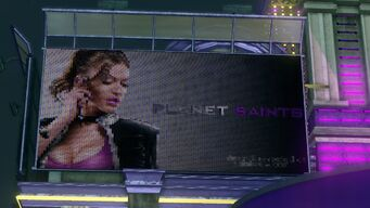 Shaundi's Billboard for Planet Saints