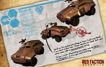 EDF Scout - Red Faction promo