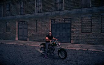 Estrada - front right with rider in Saints Row IV