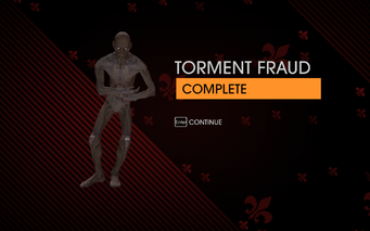Gat out of Hell - Torment Fraud completion screen