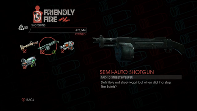Weapon - Shotguns - Semi-Auto Shotgun - Main
