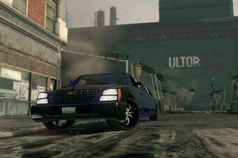 Status Quo - front left in Saints Row The Third