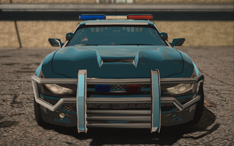 Saints Row IV variants - Pacemaker Police - front
