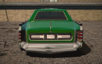 Saints Row IV variants - Churchill SOS - rear