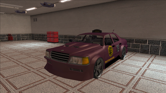 Saints Row variants - Taxi - BigWilly B - front left