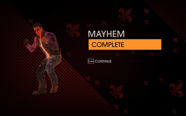 File:Gat out of Hell - Mayhem completion screen.png