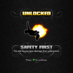 Saints Row unlockable - Abilities - Safety First - reduced explosion damage