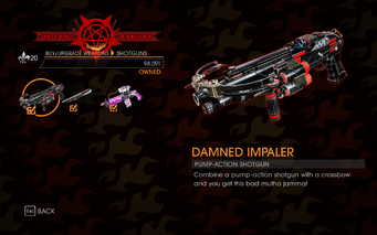 Gat out of Hell - Pump-Action Shotgun