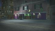 Location of Tarot store shown in The Anna Show cutscene