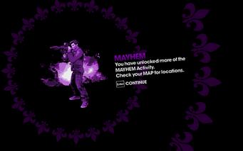 Mayhem more