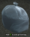 Improvised Weapon - Trash Bag