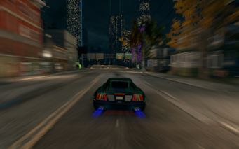 Nitrous speed blur in Saints Row The Third