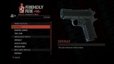 Weapon - Pistols - Quickshot Pistol - 9MM Tactical - Default