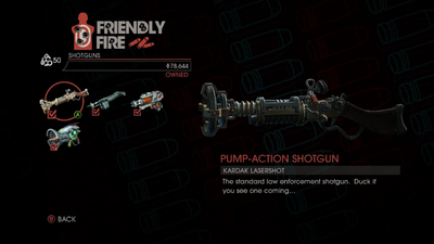 Weapon - Shotguns - Pump-Action Shotgun - Main