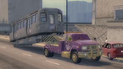 Shaft - towing El Train