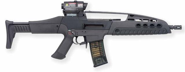 File:AR-50 XMAC - XM8 in real life.jpg