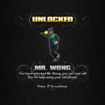 Saints Row unlockable - Homies - Mr. Wong