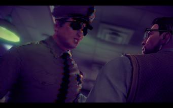 A Pleasant Day - glitching sheriff