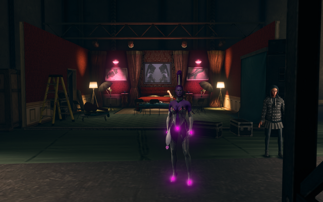 File:Hangar 18.5 Jenny in front of a Safeword set.png