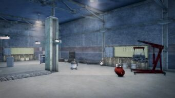 Donnie's - Interior in Saints Row 2 - wide view looking towards the rear