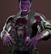 Mister Purple Reptile appearance