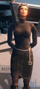Viola in handcuffs